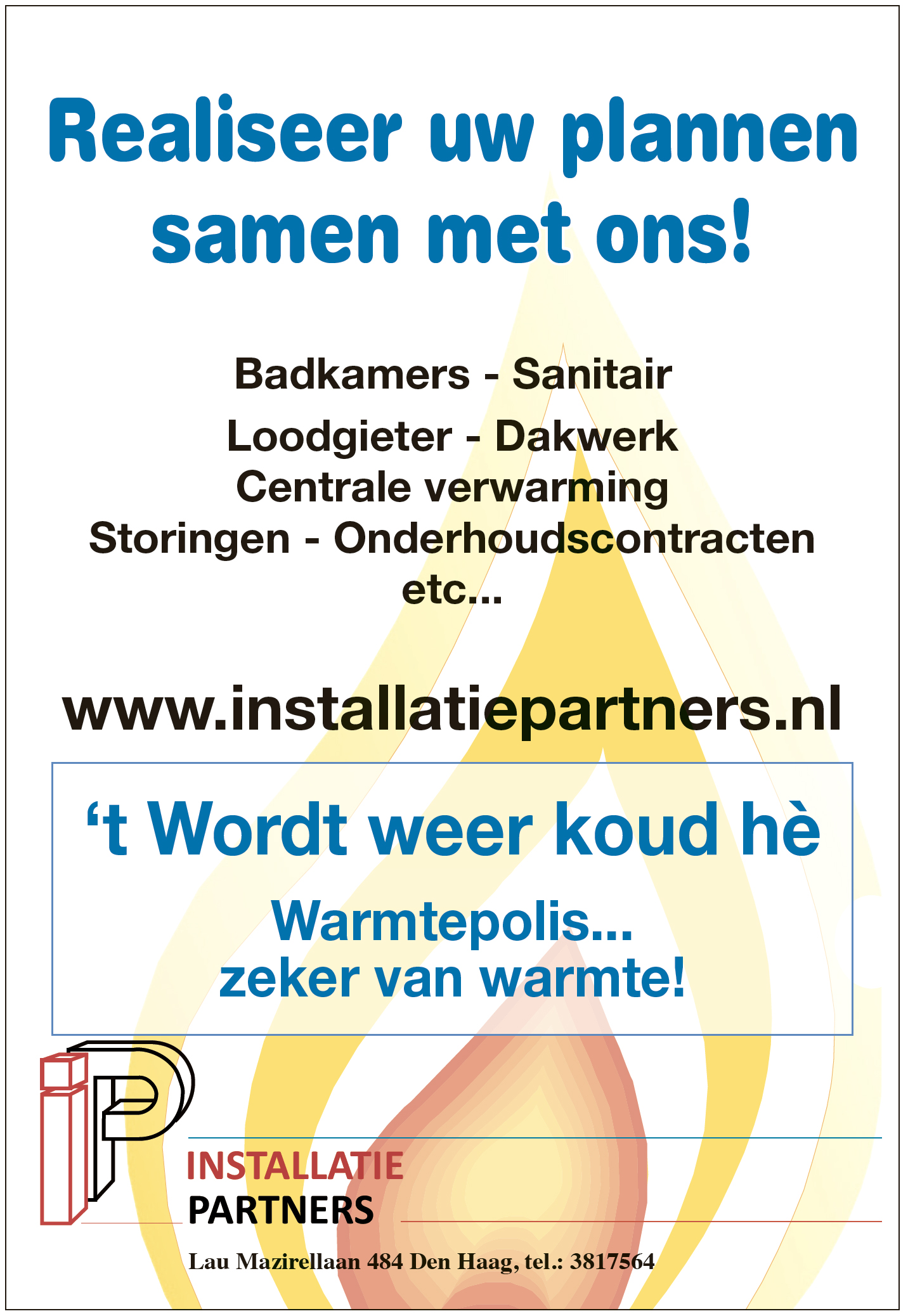 Advertentie Installatie Partners
